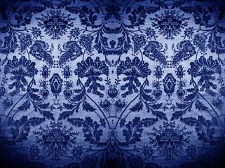 oriental blue silkbackground