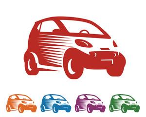 Car Logo - City Car - Smart - Car Vector