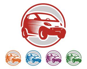 Car Logo - City Car - Smart - Car Vector - Circle