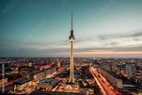 Staande foto Berlijn Berlin Alexanderplatz