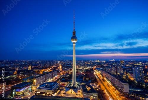 Fototapeta Fernsehturm Berlin