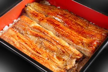 Kabayaki high quality Japanese foods of the eel