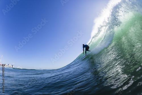 Zdjęcia na płótnie, fototapety, obrazy : Surfing Action Wave Swimming