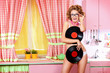 alluring with vinyl records