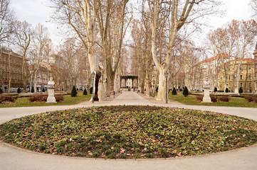 Zrinjevac park, Zagreb, Croatia