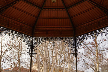 Music pavilion at Zrinjevac park, Zagreb, Croatia