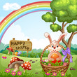 Easter Holidays Background