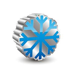 Flake 3D Icon