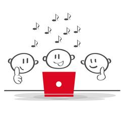 Pause / Singen / Team