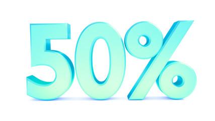 50 % sale