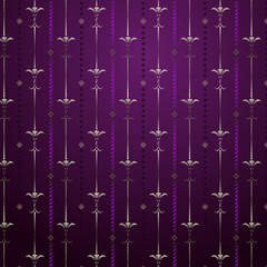 Seamless pattern in fine design.