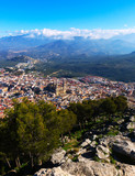 Naklejka View of Jaen from castle