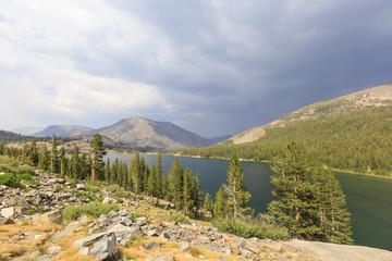 Tenaya lake near Yosemite National Park