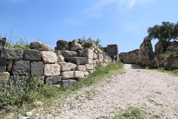Roman ruins at Umm Qais (Umm Qays) -- Jordan