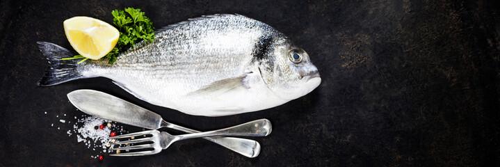 Delicious fresh fish