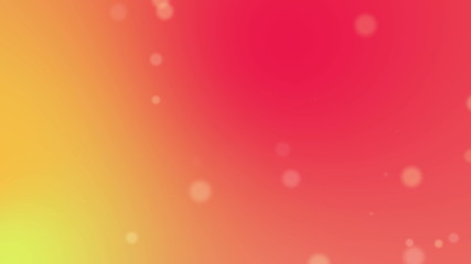Abstract blurry background with particles