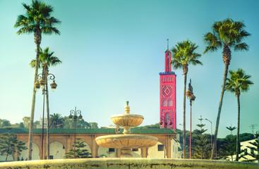 Die prachtvolle Moschee des Sidi Bou Abid