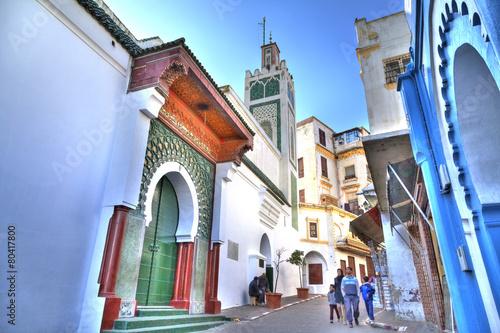 """Papiers peints Maroc Die prachtvolle """"Große Moschee"""" im Herzen der Medina"""