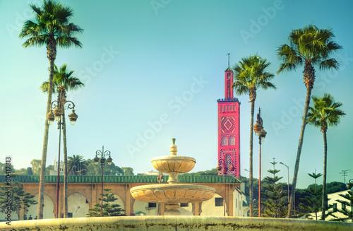 Papiers peints Maroc Die prachtvolle Moschee des Sidi Bou Abid