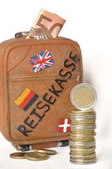Urlaubsgeld Reisekasse Geld sparen für Urlaub