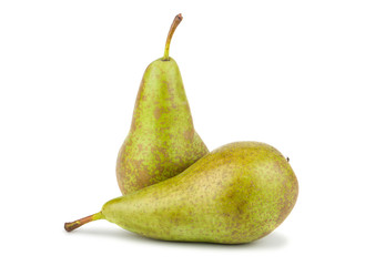 Two green pears
