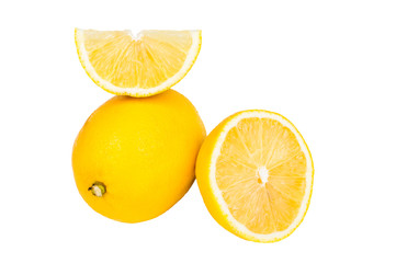 a lemon and chopped
