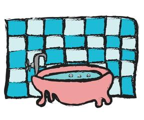 doodle bathtub