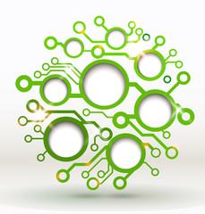 Vector design element