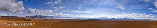 Leinwandbild Motiv The Panorama of Altiplano desert
