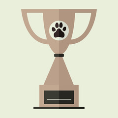 Bronze Pet Trophy