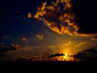 Pôr-do-sol de Brasília