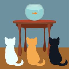 Cats & fish