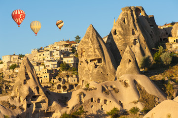 Hot Balloons over Uchisar