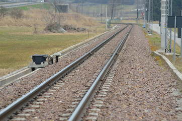 rotaie treno ferrovia