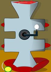 Máquina para fabricar chorizos
