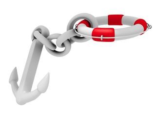 3d Rendering Rettungsanker