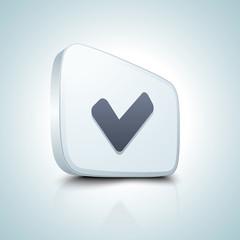 Checkmark button