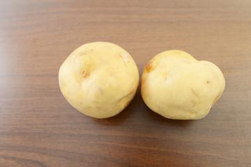 新鮮なジャガイモ