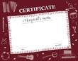 Music Course Certificate
