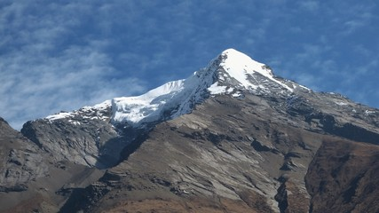 Pisang Peak, view from Hongde