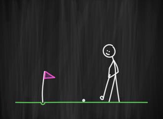 tafel mk golf spielen II
