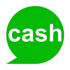Icono texto cash