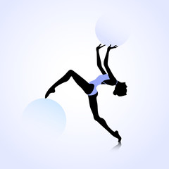 Female dance icon