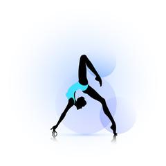 Woman dance icon