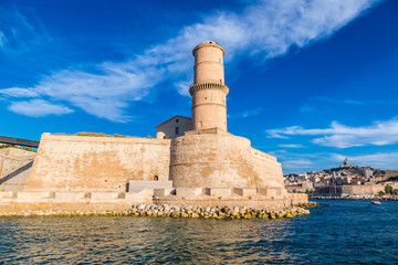 Fort Saint Jean in Marseille