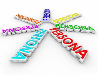 Persona 3d Words Customer Unique Profiles Different Needs