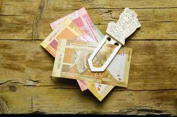 Suid-Afrikaanse rand South African rand Africa money