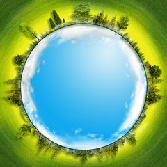 Earth is our home, abstract environmental backgrounds