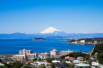 富士山 江ノ島 逗子マリーナ