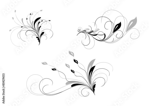Collection of design elements - 80429653